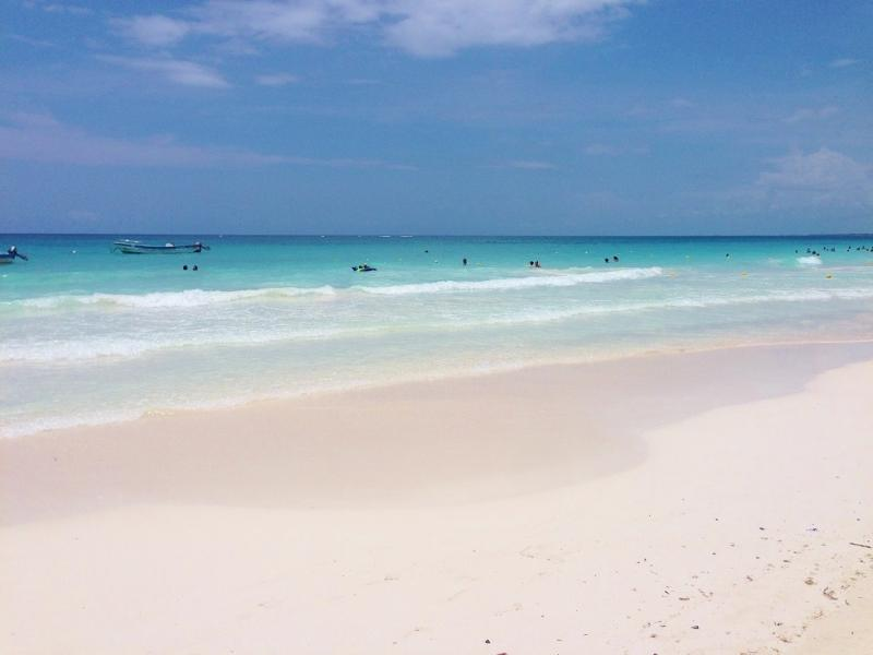 Tulum s beautiful beaches only minutes away