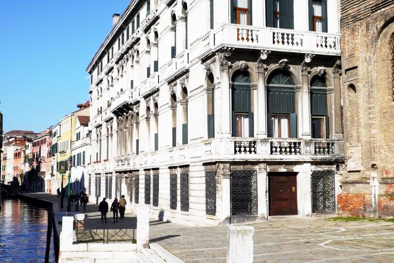 Palace in the Fondamenta della Misericordia