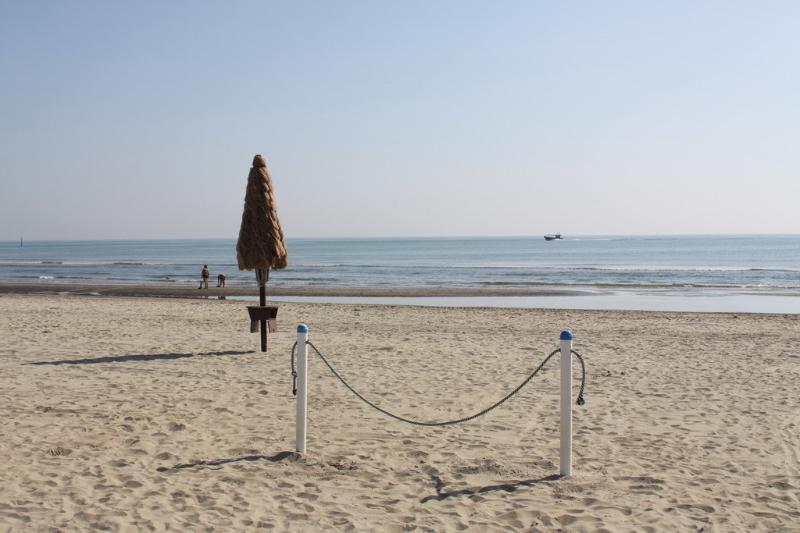 Spiaggia di Cervia per gli amanti della corsa o delle passeggiate di primo mattino