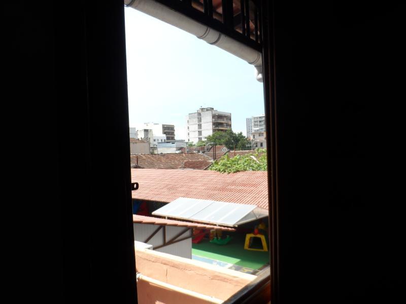 Visao da janela do quarto