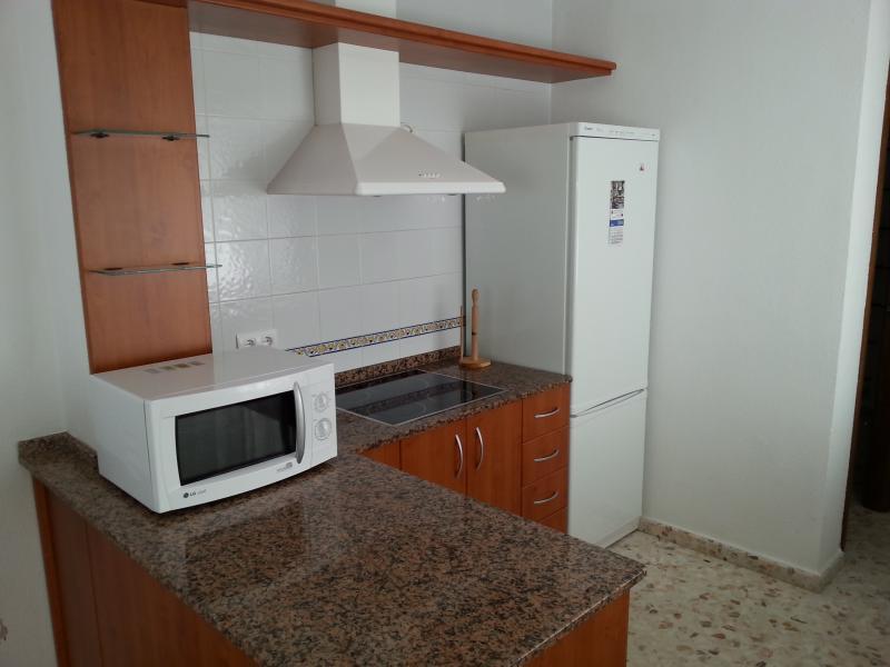 Foto de la cocina. lateral