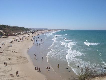 Playa del Roqueo. Conil de la Frontera. Cadiz.