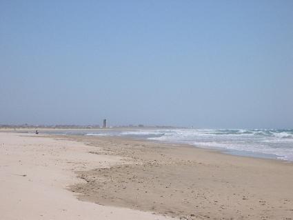 Playa de Castilnovo. Conil de la Frontera. Cadiz.