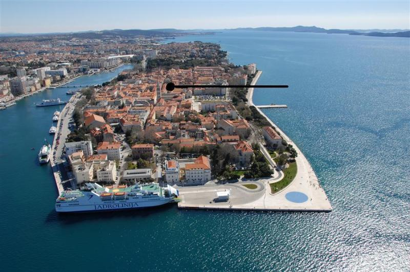 Historical centre of Zadar, walking distance to all sights, 2 pax studio, ideal 4 couples or singles