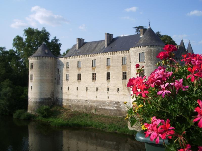 Le chateau at La Guerche - just a walk away