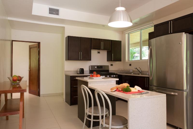 Une grande cuisine fait une location de vacances encore mieux. Notre cuisine est entièrement équipée et puis certains. ; )