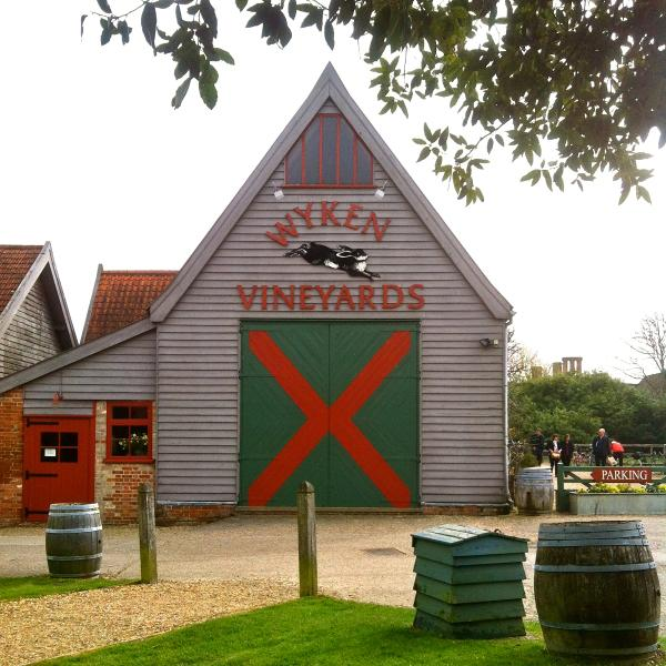 Wyken vineyards - 8 miles out of Bury - book for Sunday Lunch & very happy country store shoppin