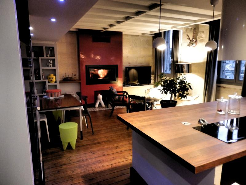 BORDEAUX centre ville, T3 de charme avec parking, vacation rental in Bordeaux