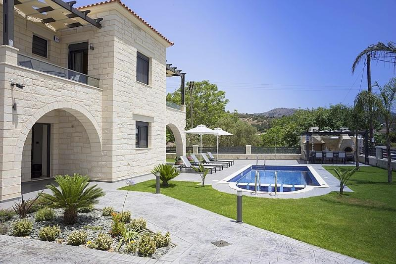 Villa and landscaped gardens