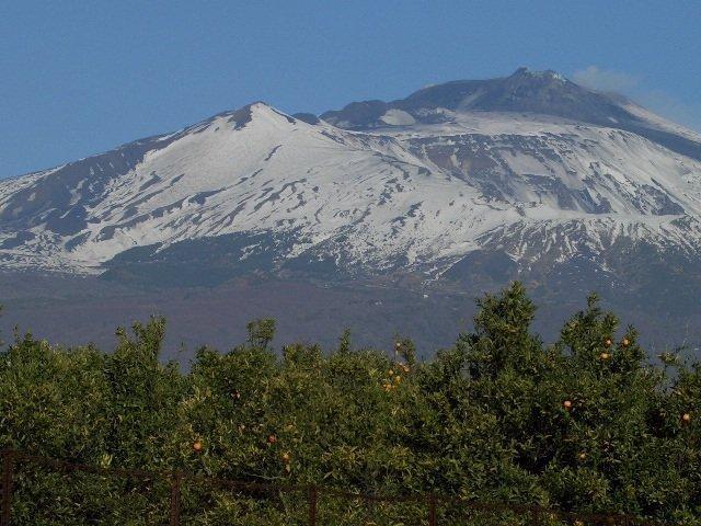 vista monte Etna