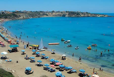 Coral Bay a short drive away - blue flag sandy beachs , good choice of restaurants.