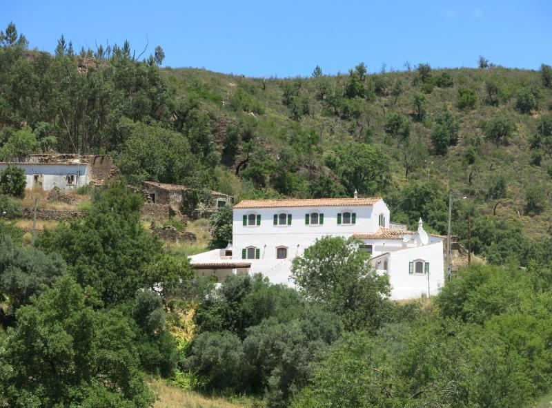 A Casa do Campo and its annexe settled into the hillside - no one to overlook you!