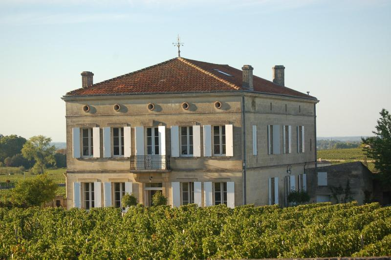 Chateau/villa Saint-Emilion centre, near Bordeaux, location de vacances à Saint-Emilion