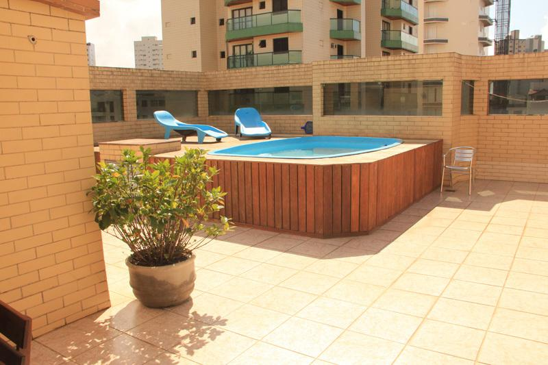 Terrace with plunge pool