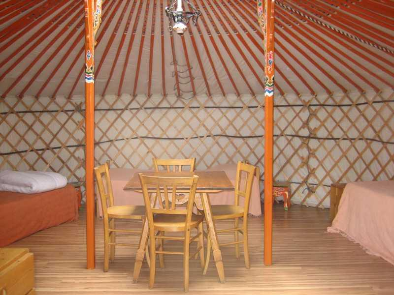 Yourte Mongole, holiday rental in La Cote-d'Aime
