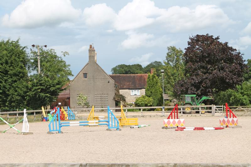 Equestrian facilities.
