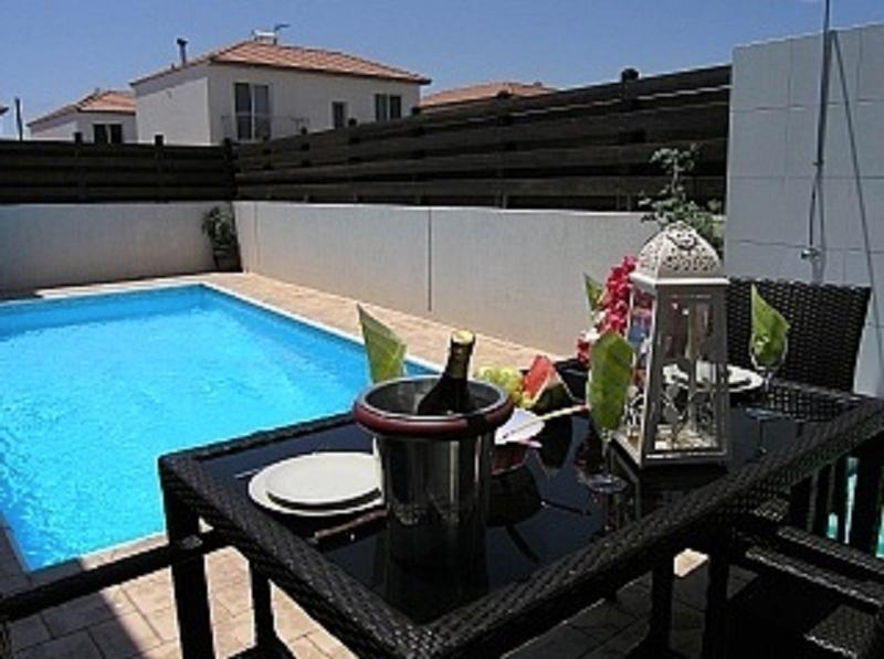 Private outdoor pool and sun terrace