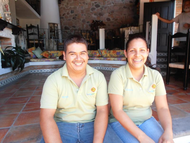 Our Staff;  Memo and Norma they do an excellent Job taking care of Casa Owaissa.