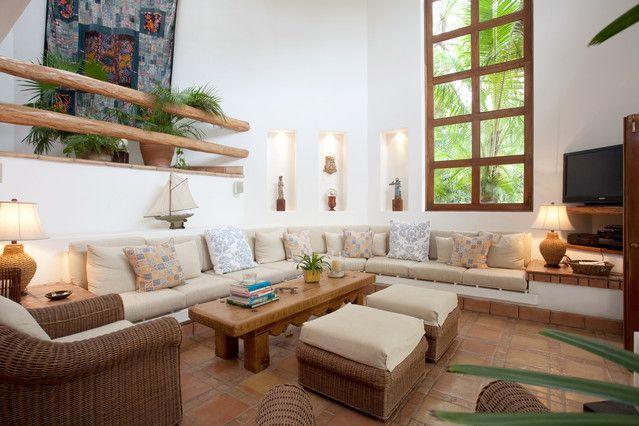 Salon spacieux et accueillant