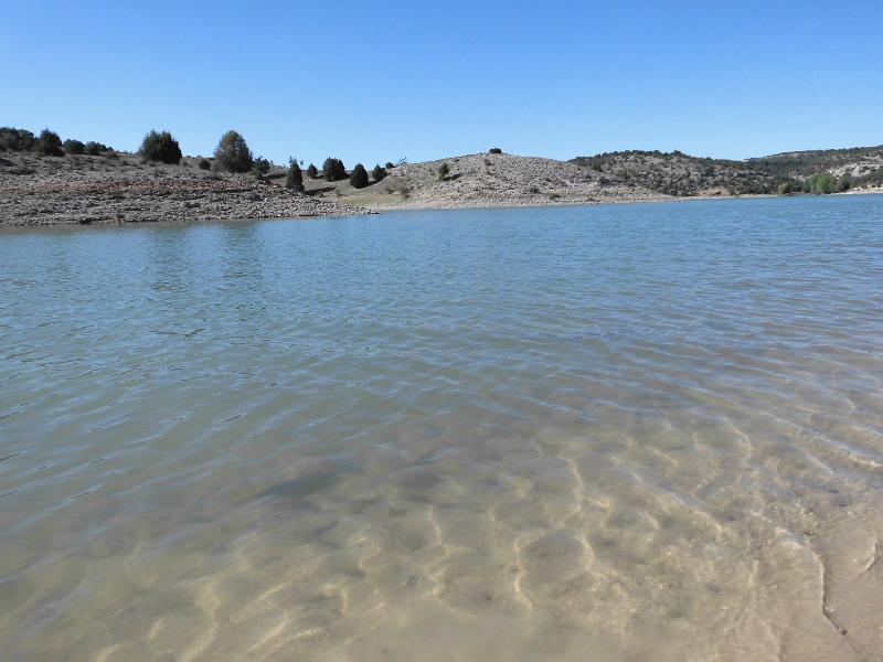 Baño en el pantano de Linares
