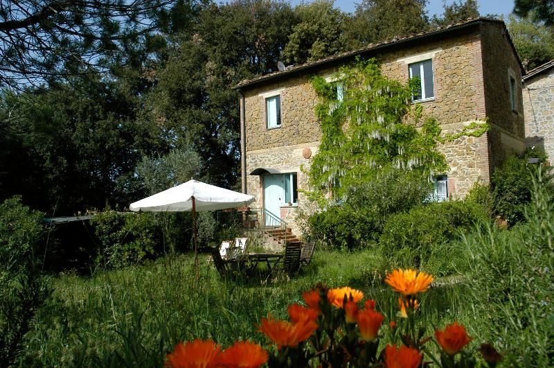 Farmhouse in summertime