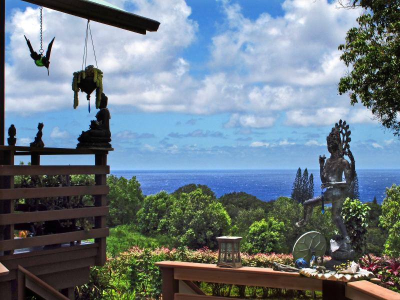 La grande terrasse est idéal pour se détendre et profiter des repas en plein air !