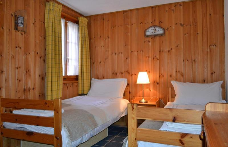 The twin (or single or double bunk) room