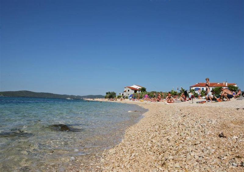 Bibinje Beach - less than 5 minute walk from apartment