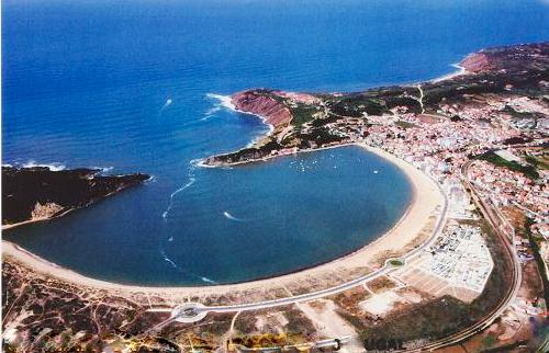 Bird's Eye View of the Sao Martinho Bay
