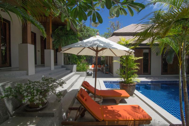 Peaceful Spa resort villa with tropical magic, holiday rental in Choeng Mon