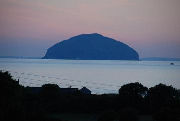 View from Front of House - Ailsa Craig