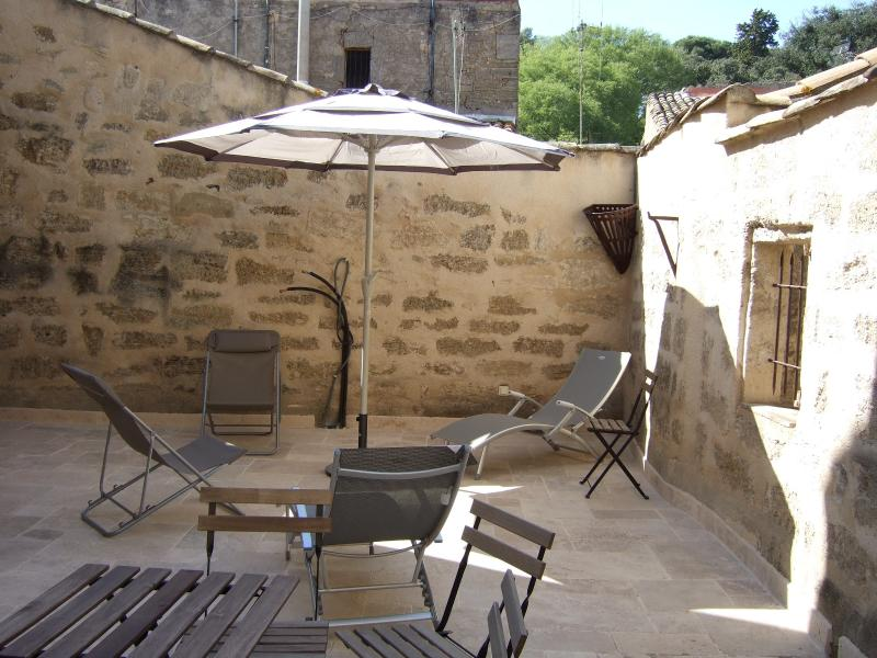 Stylish 1 Bed Apart with Large Terrace in Pezenas, holiday rental in Pezenas