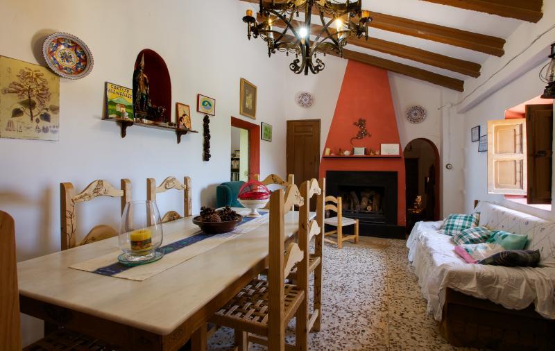 Salón comedor - Chimenea
