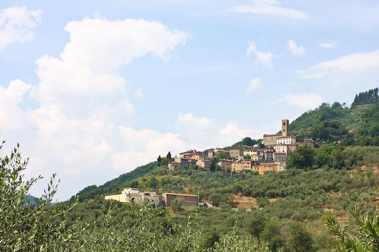 Uzzano landscape