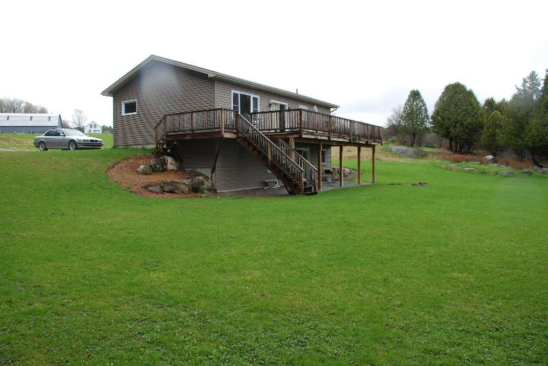Lakefront Home with Dock, Beach and on Vast Trail, holiday rental in Irasburg
