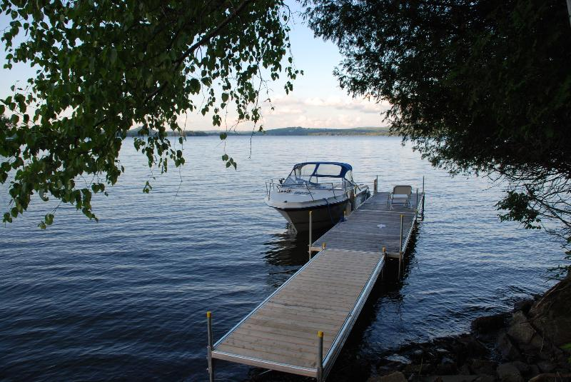 dock (boat not included)