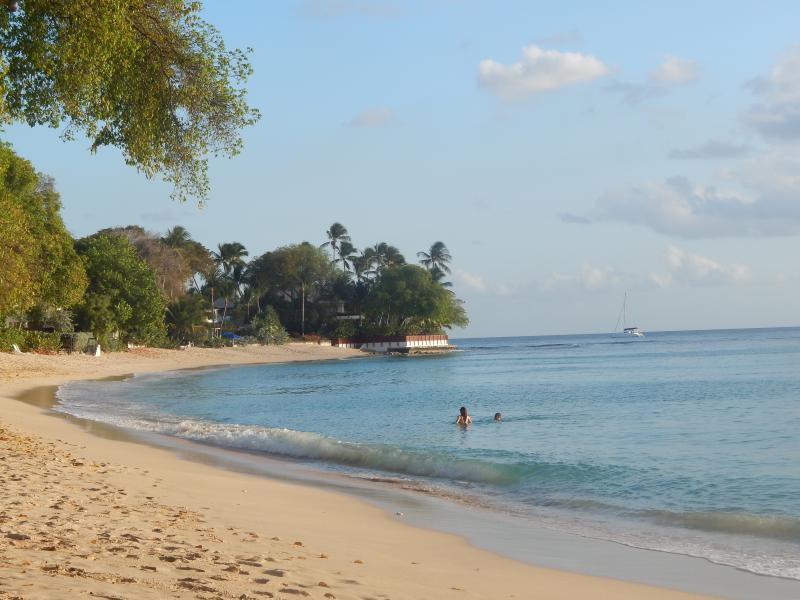 Gibbes Beach - two minutes walk from the cottages!