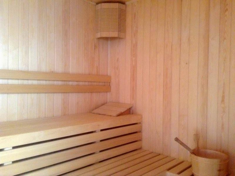 And for all you sauna fans...