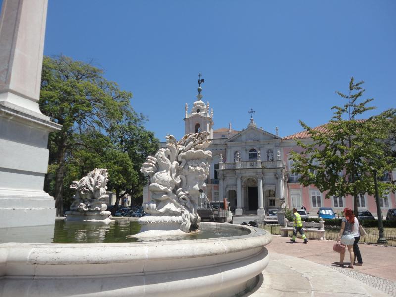 'Palácio das Necessidades', the ancient king´s residence - 3 min walking