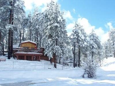Flagstaff Cozy Cabin, location de vacances à Kachina Village
