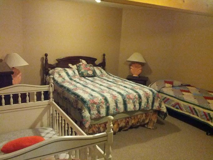 Second Master Bedroom - lower level - sleeps 3 plus a crib