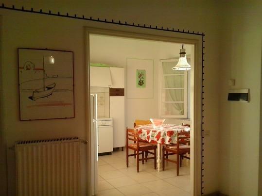 La cucina vista dal Living