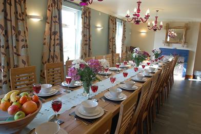 Dining Room with seating for 24 Guests
