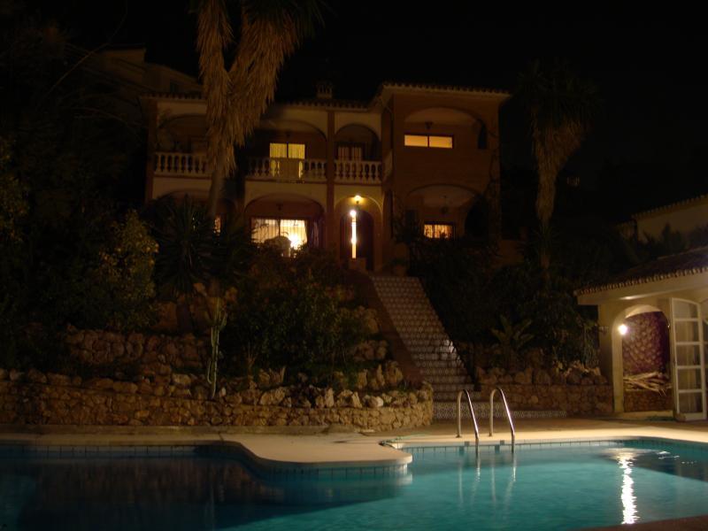 El Nido Aquilas at Night