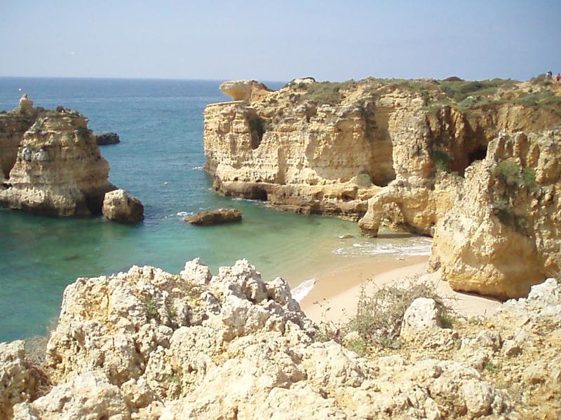 Craggy beach