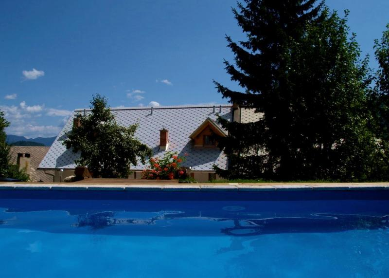 Farmhouse Katricnek - Pool, Garden & Cosy Cottages.  Relax & Recharge in clean Alpine air.