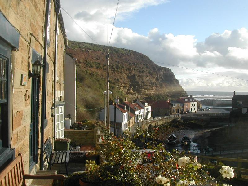 View from the Fishermen's Cottages
