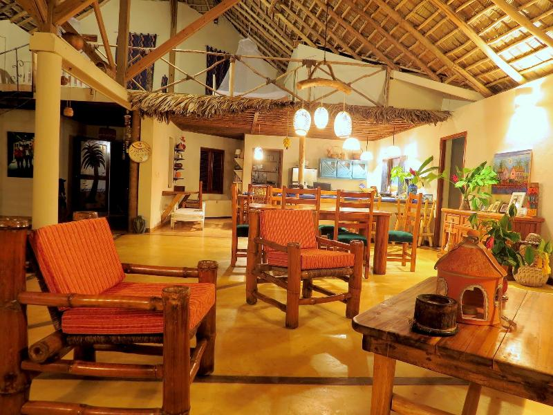 The villa has several indoor seating areas including one with a flat screen TV /satellite reception.