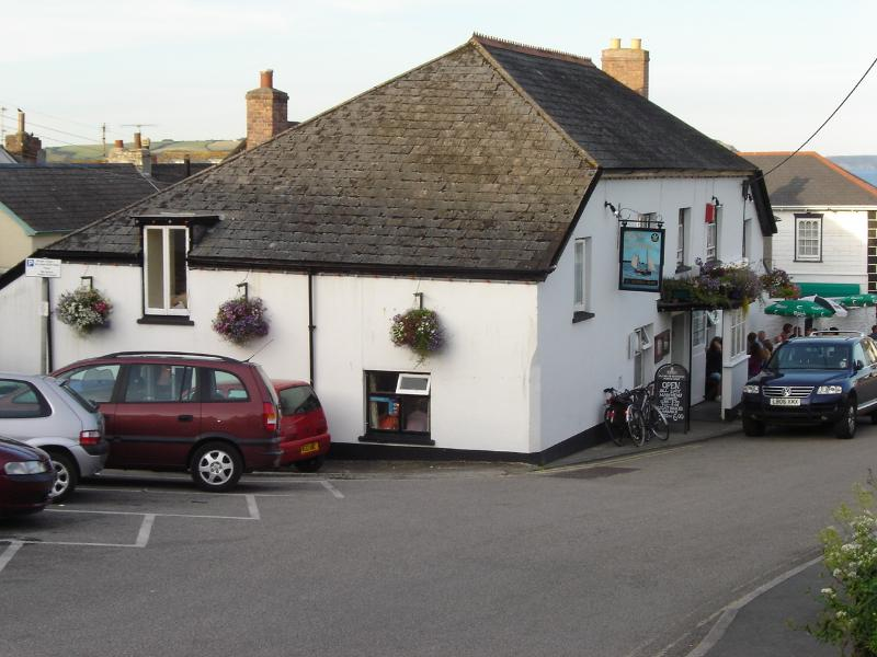 The Plume of Feathers Pub - just a 2 minute walk from Roses Cottage!