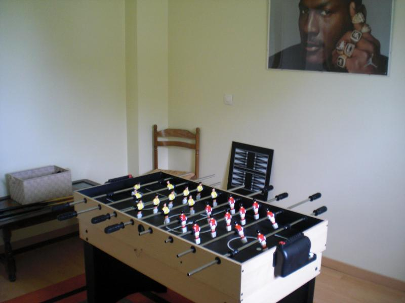 Games room - it might rain now and again!